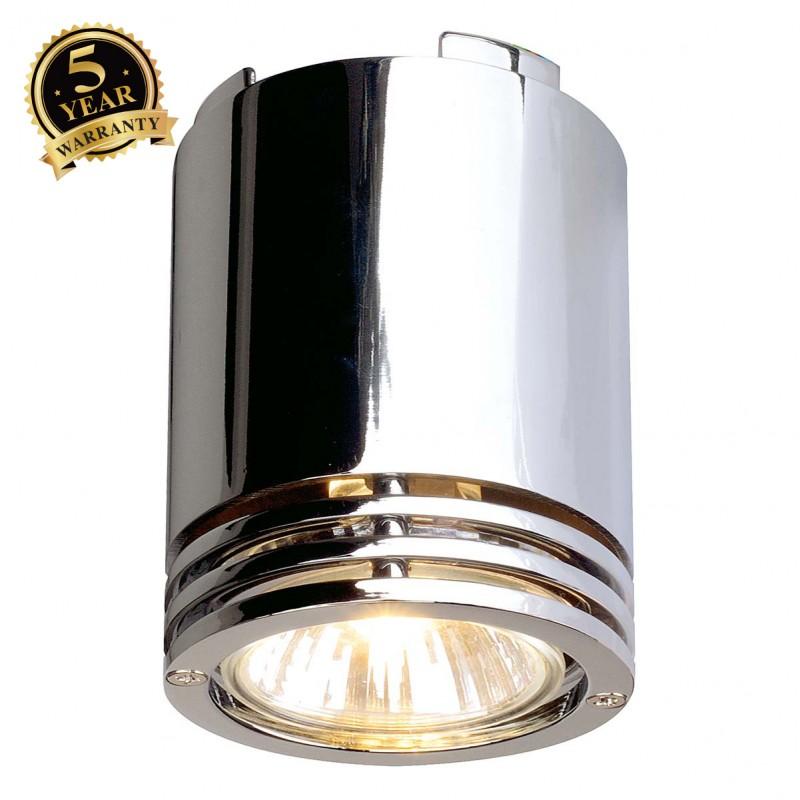SLV 116204 BARRO ceiling light, CL-1,chrome, GU10, max. 50W